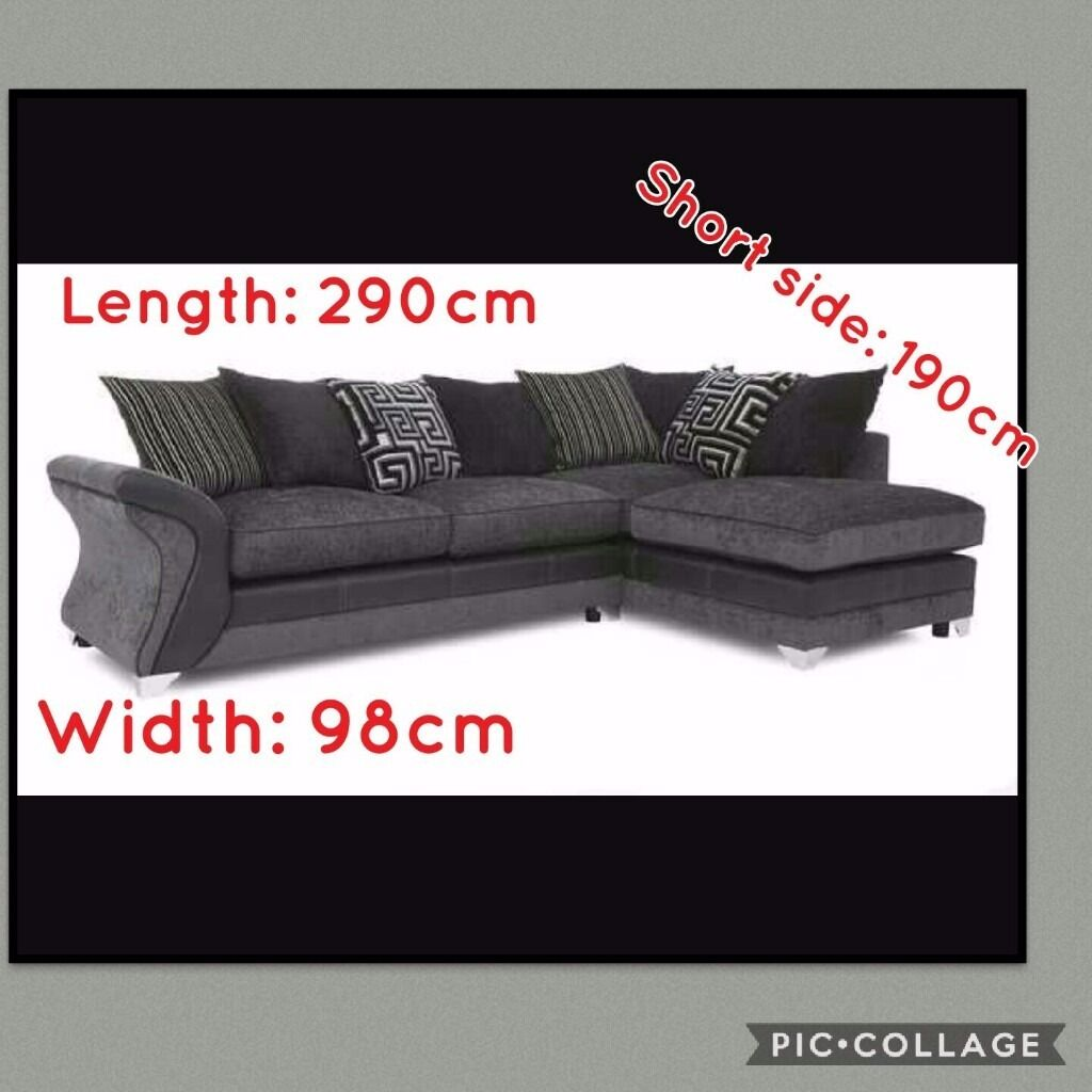 Big Sofa 290 Cm Dfs Dare Corner Sofa Sold In Aberdeen Gumtree