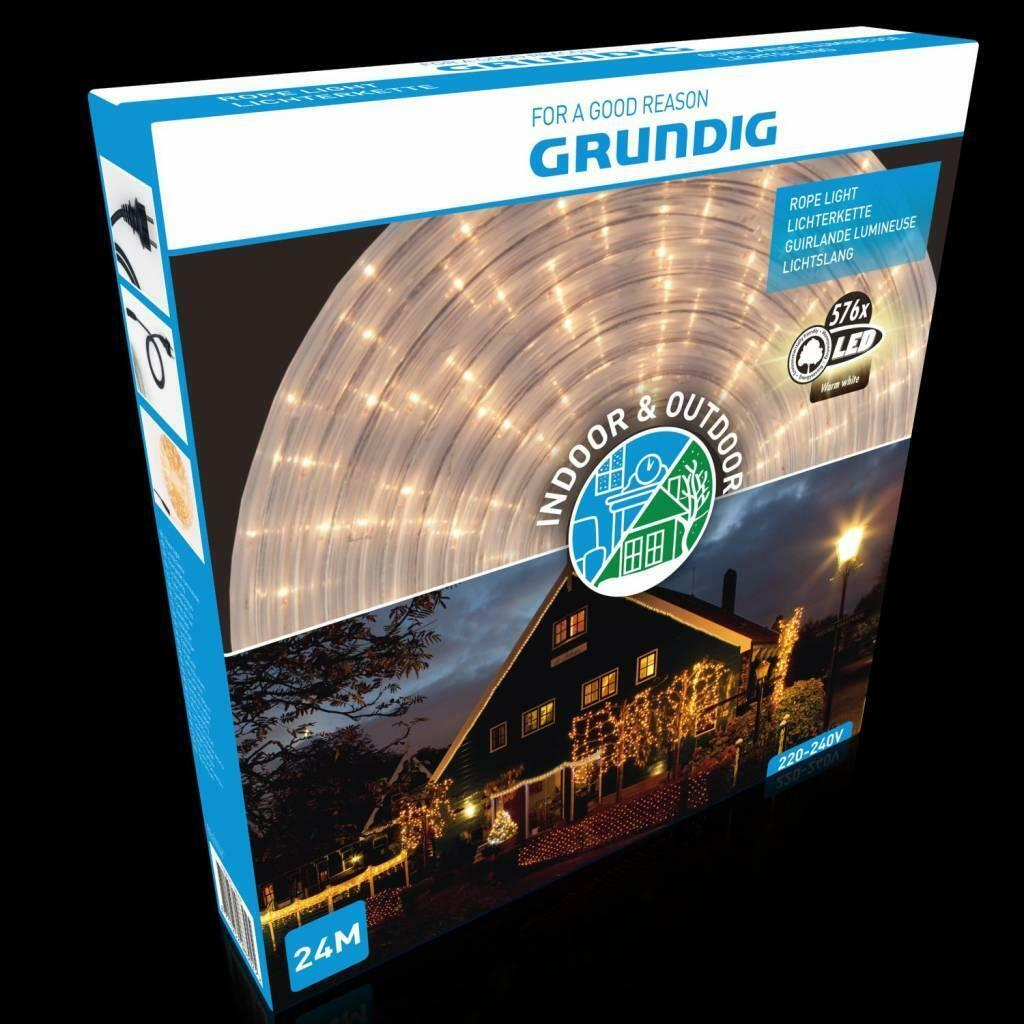 Led Slang Verlichting Warm Wit Grundig Led Lichtslang Warm Wit 24 Meter
