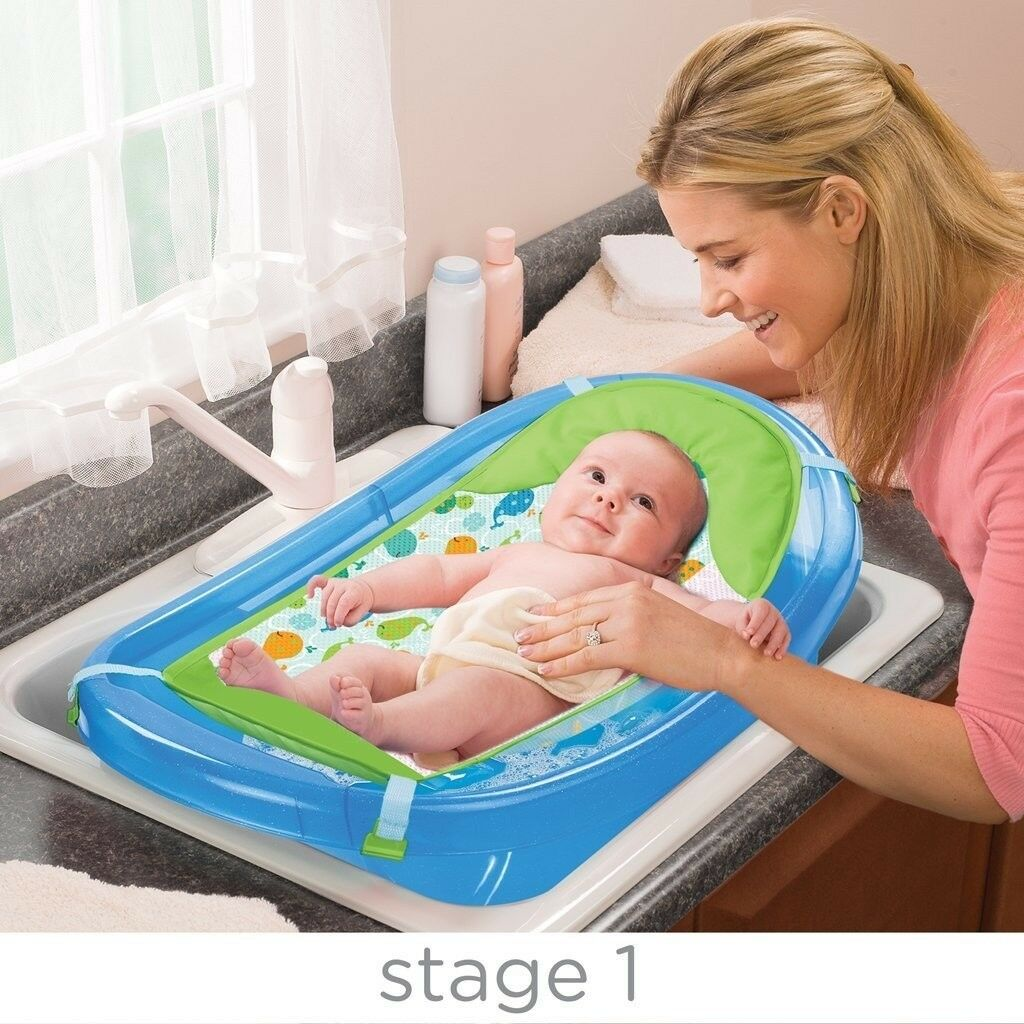 Infant Bath Time Products Sparkle And Splash 3 Stages Baby Bath Tub With Sling In Barking London Gumtree