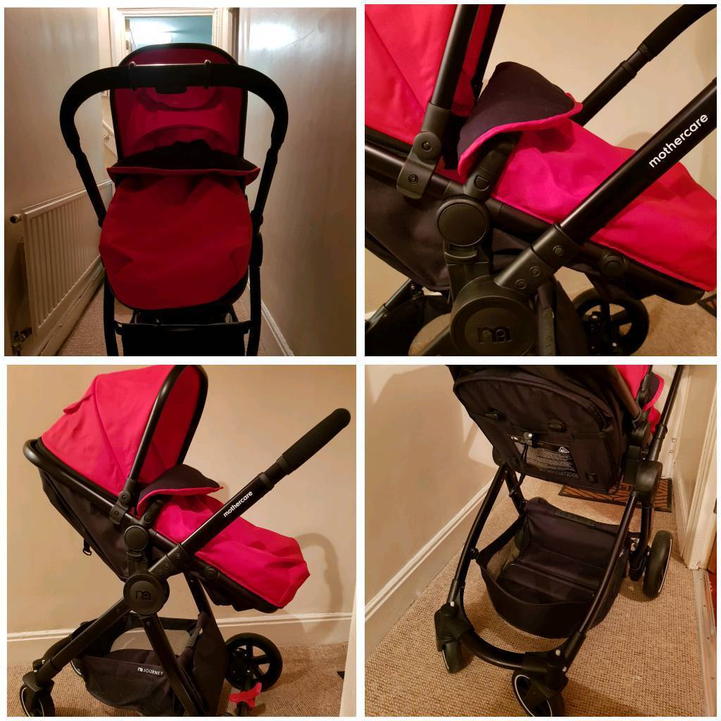 Travel System With Convertible Car Seat Red Mothercare Journey Pram Pushchair Travel System Combo With Car Seat And Bag Baby Stroller In Tonypandy Rhondda Cynon Taf Gumtree