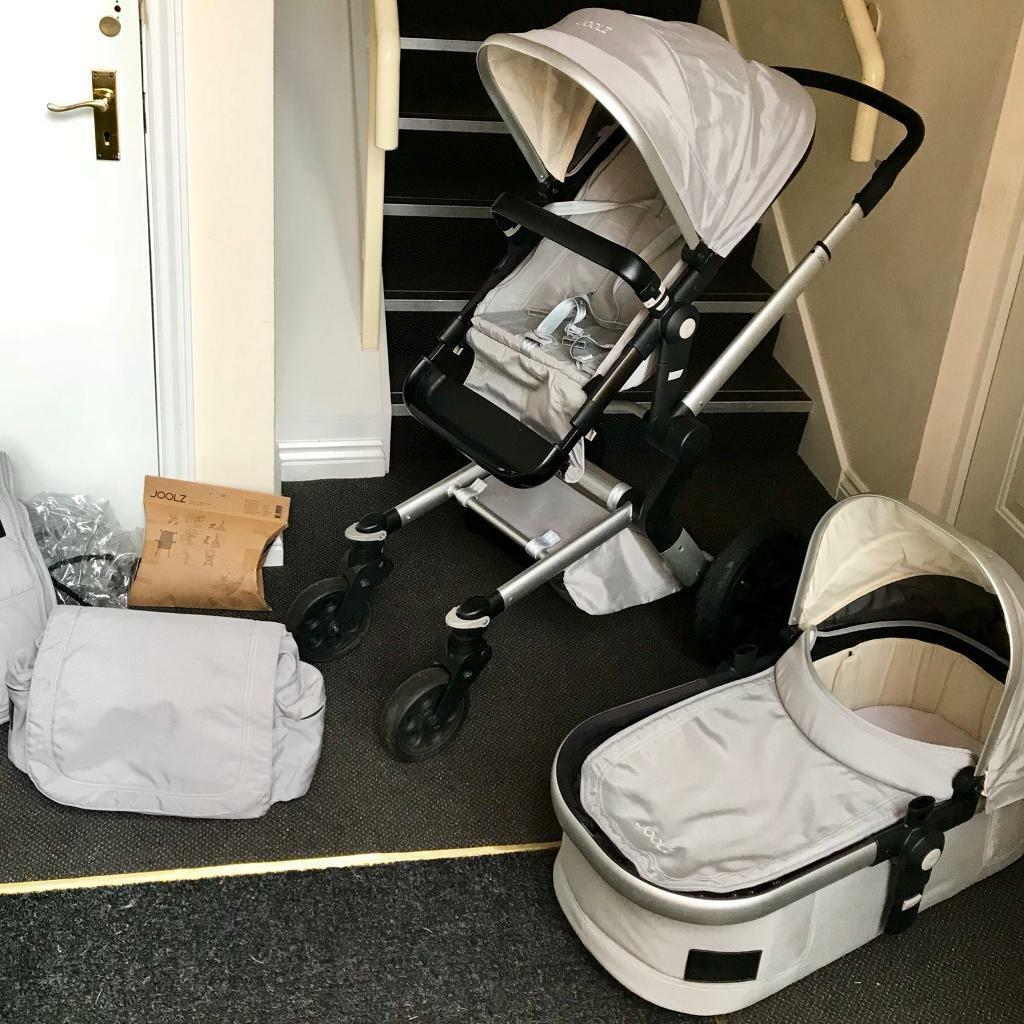 Joolz Stroller Travel Bag Joolz Day Pushchair Stroller Grey Bundle Carrycot Nappy Bag Extra Large Basket In Sherwood Nottinghamshire Gumtree