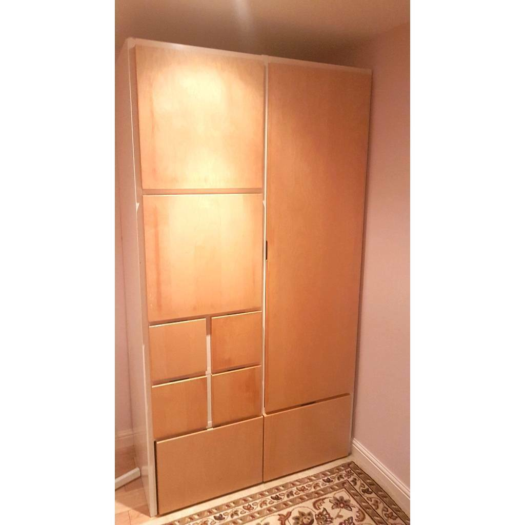 Ikea Free Standing Wardrobe In Dewsbury West Yorkshire