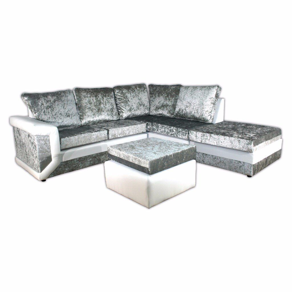 Sofa Bed Express Delivery Brand New Dino Max Diomand Crush Velvet Sofas With