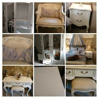 Beautifull French Chateau White Bedroom Furniture Suite ...