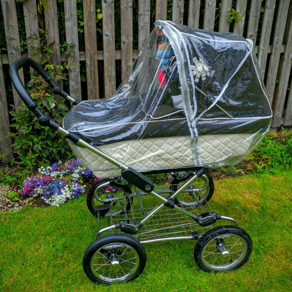 Silver Cross Elegance Buggy Board Pram Pushchair Moses Basket Silver Cross Offers