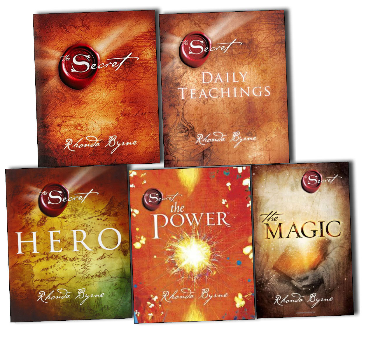 Libro The Secret The Secret Series 5 Books Collection Set By Rhonda Byrne