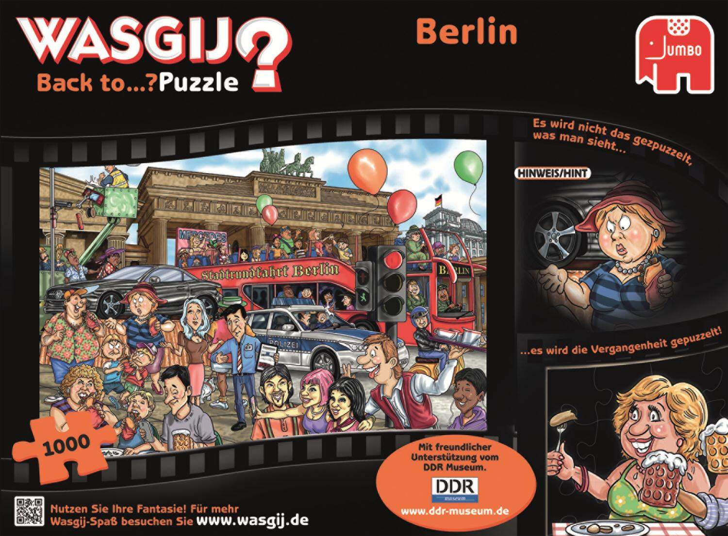 Berlin Puzzle Jumbo Wasgij Puzzle Back To Berlin 1000 Pcs Comics 19117