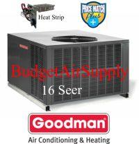 4 Ton 16 Seer Goodman Package Heat Pump GPH1648M41   eBay