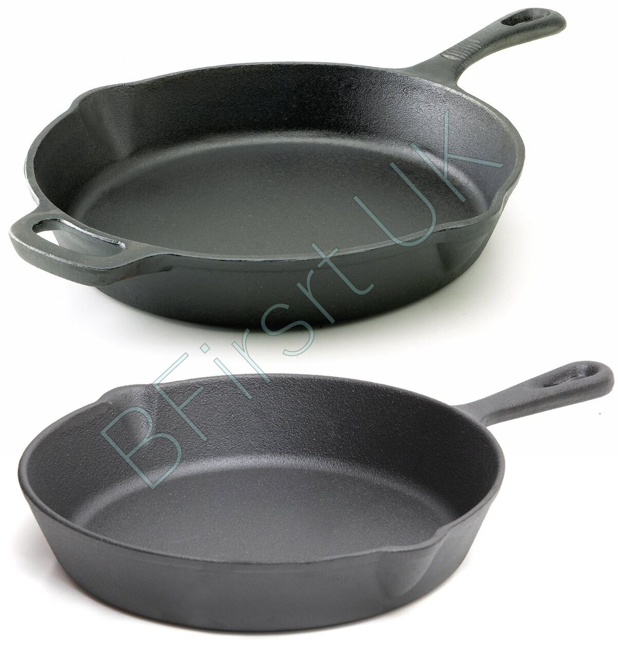 Ovenproof Frying Pan Cast Iron Induction Non Stick Grill Pan Skillet Cooking
