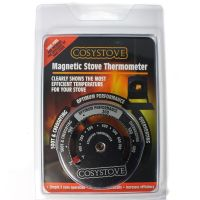 Stove Thermometer - Magnetic Heat Powered Stove Flue Fan ...
