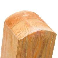 Zaunpfosten Holz 7X7 Test Vergleich +++ Zaunpfosten Holz