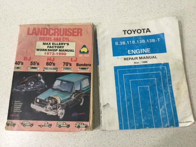 Toyota Landcruiser repair Manuels Textbooks Gumtree Australia