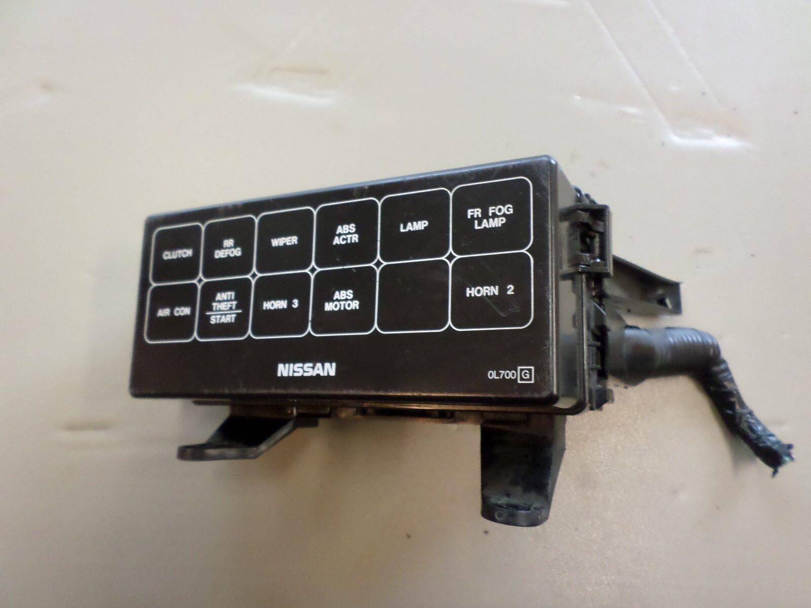 1999 maxima fuse box