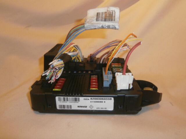 Renault Megane 2 Fuse Box Wiring Diagram