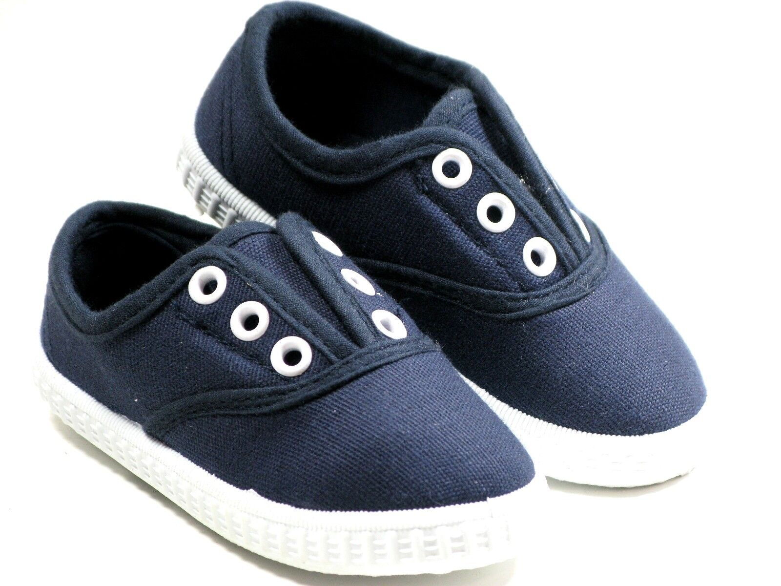Slipon For Baby Toddler Girls Or Boys Canvas Shoes Sizes 4
