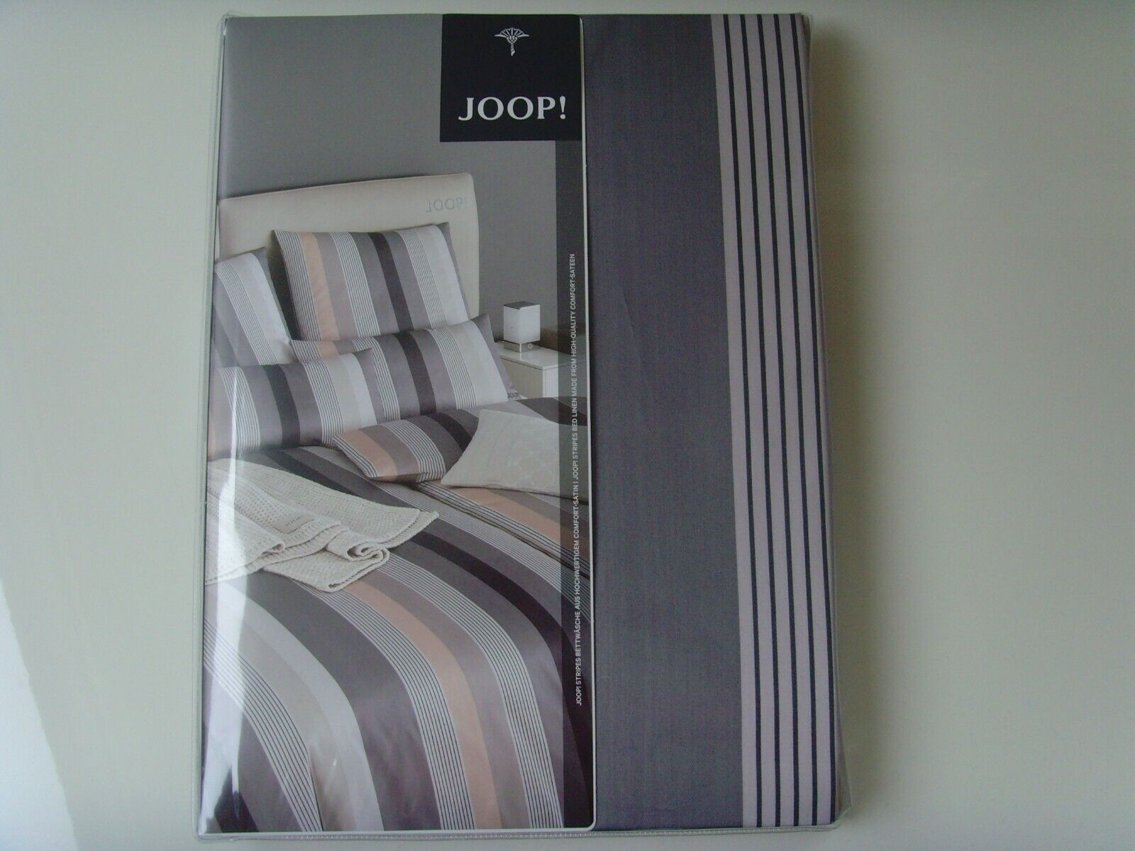 Joop Living Neu Stone Stripes Bettwäsche 155 X 200 80