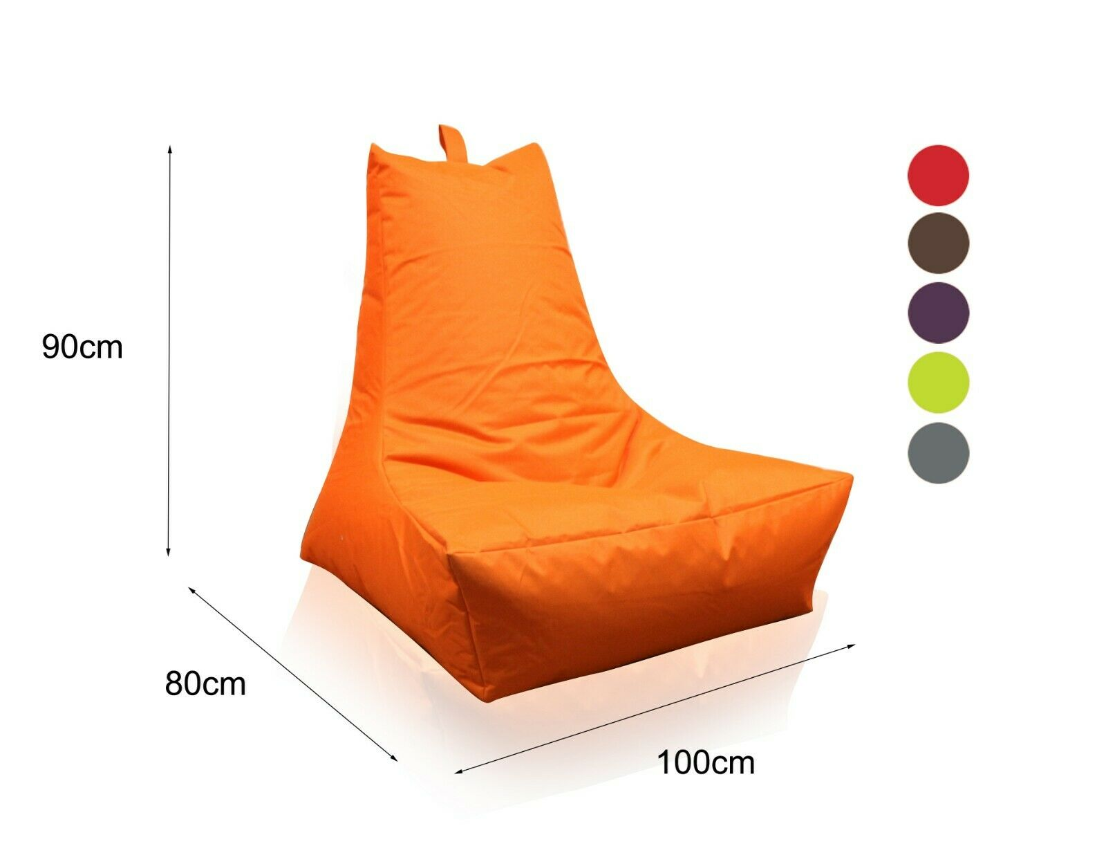 Lounge Sessel Indoor Lounge Sessel Inkl Xl Kissen Anthrazit B 96 Cm Indoor
