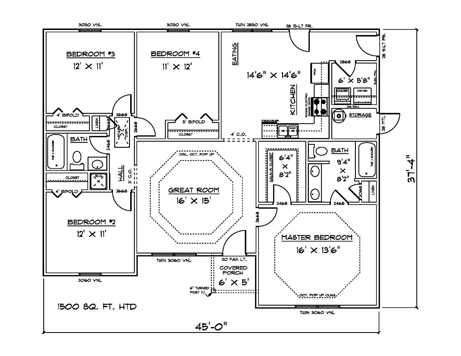 Unique house plans 1500 square feet house floor ideas for 100 sq ft bedroom layout