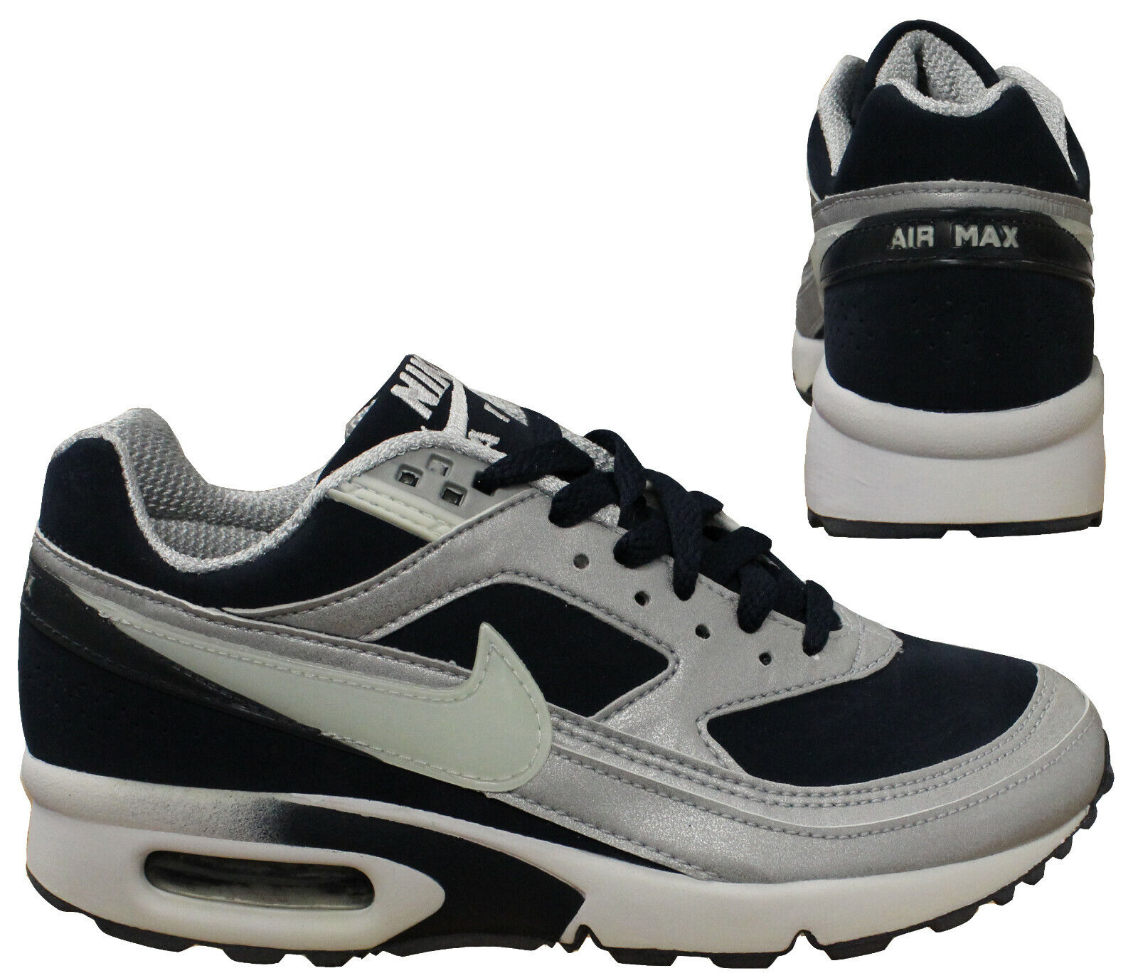 Air Max Classic Details About Nike Air Max Classic Bw 2003 Rare Vintage Kids Navy Low Trainers 609035 411 M20