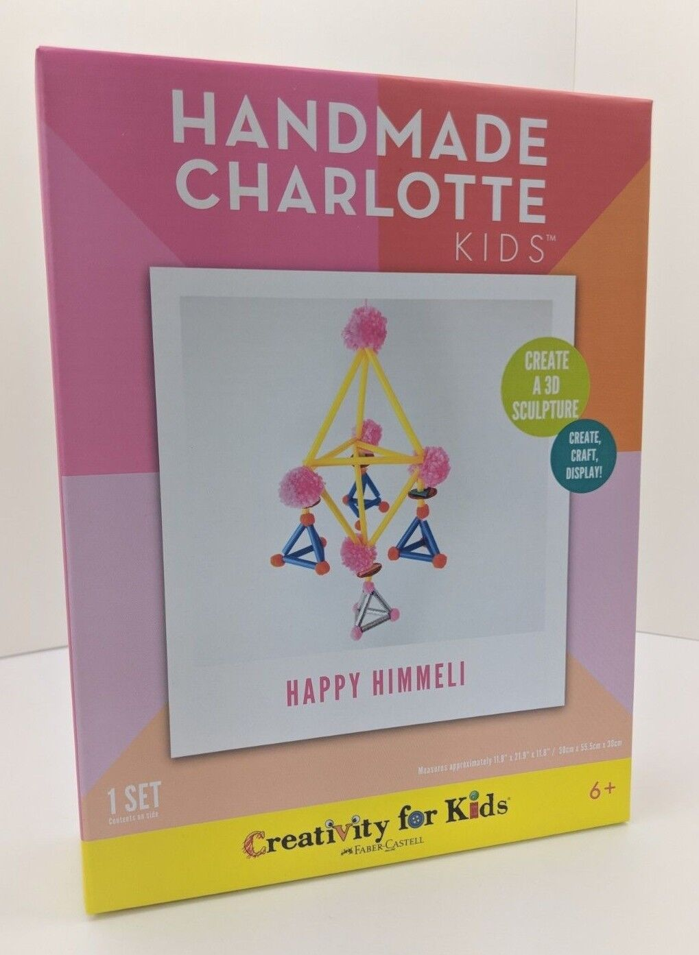 Things For Kids To Do In Charlotte Handmade Charlotte Kids Happy Himmeli Craft Diy Kit 92633306321 Ebay