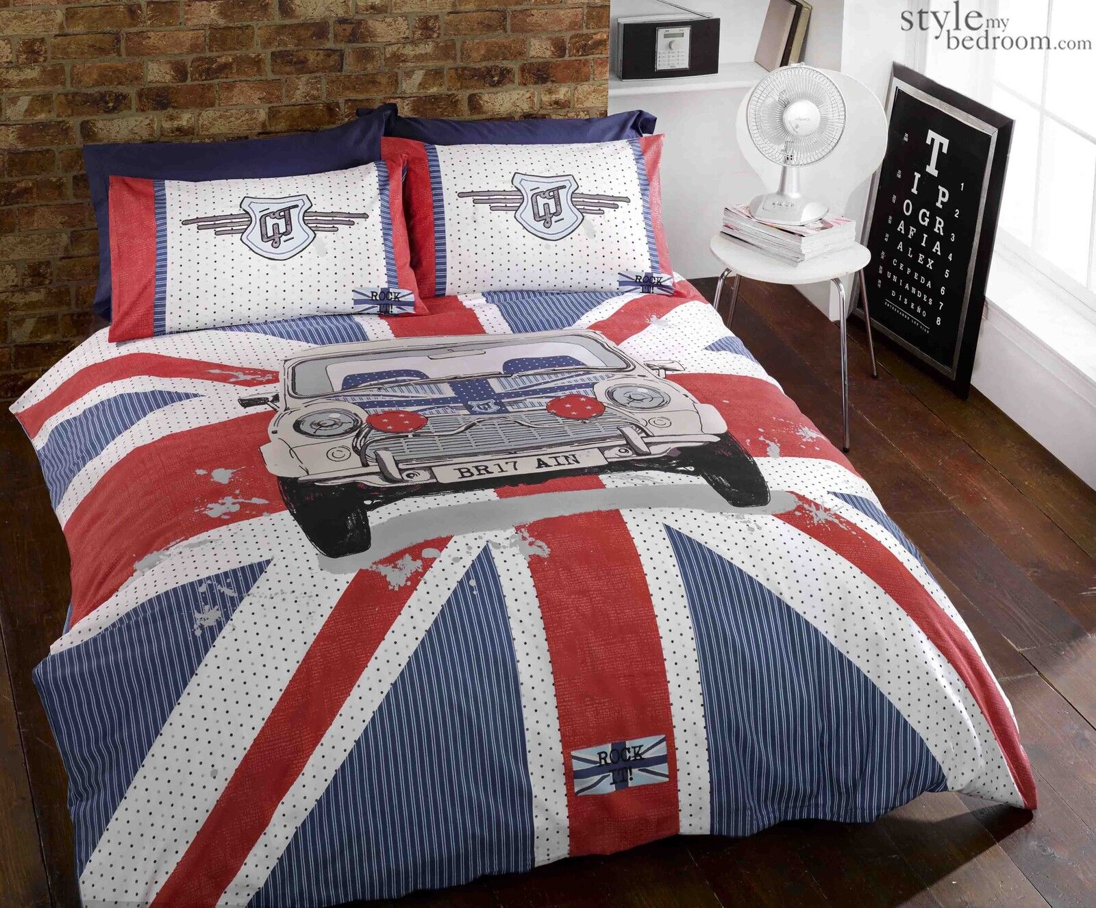 Bedding Sets Duvet Covers New Modern Style Denim Flag Union Jack Polycotton Quilt Duvet Cover Bedding Set Home Furniture Diy Breadcrumbs Ie