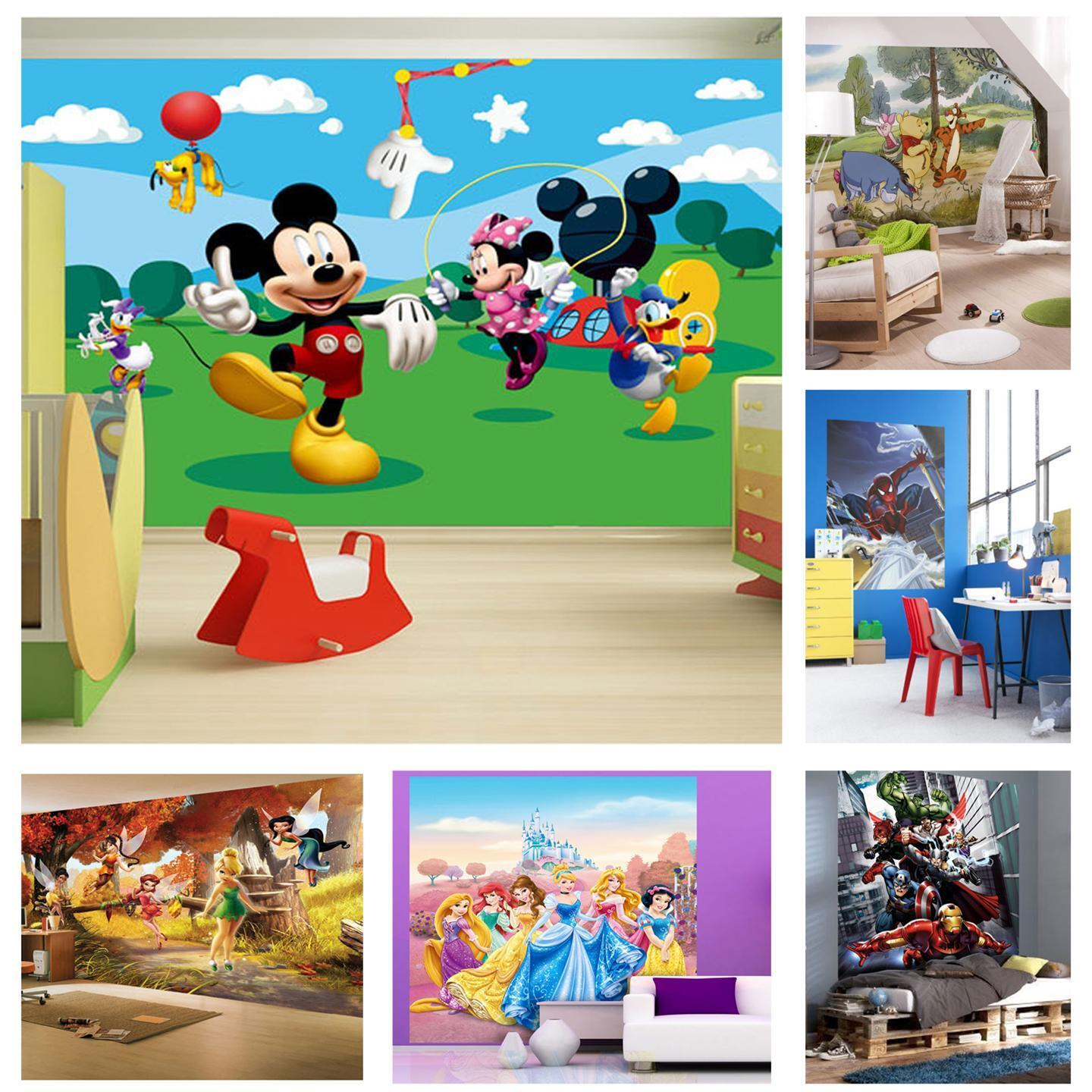 Childrens Wall Murals Wallpaper Childrens Bedroom Disney And Character Wallpaper Wall Mural