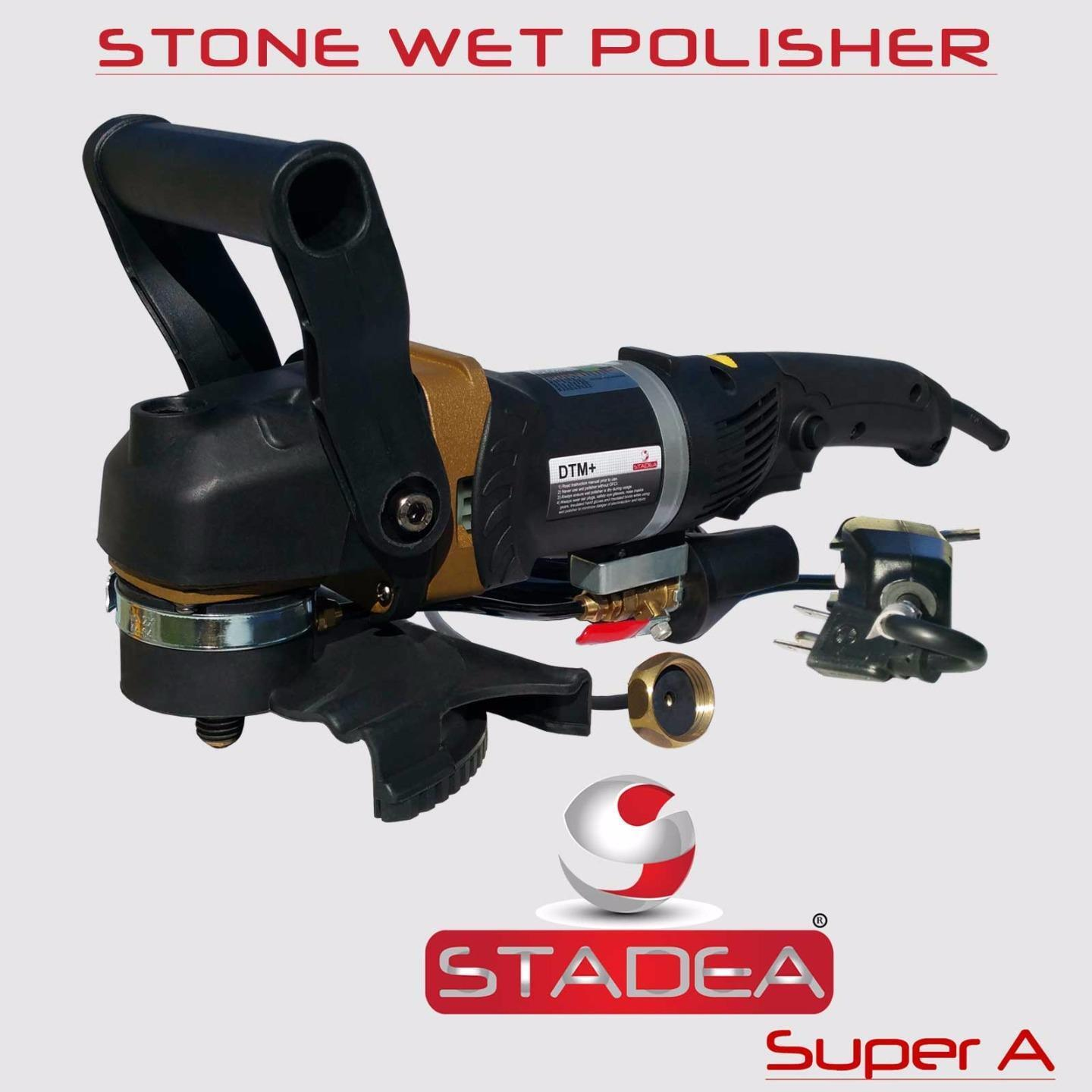 How To Grind Granite Countertops Stadea 5 Quot Wet Stone Grinder Polisher With Granite Wet