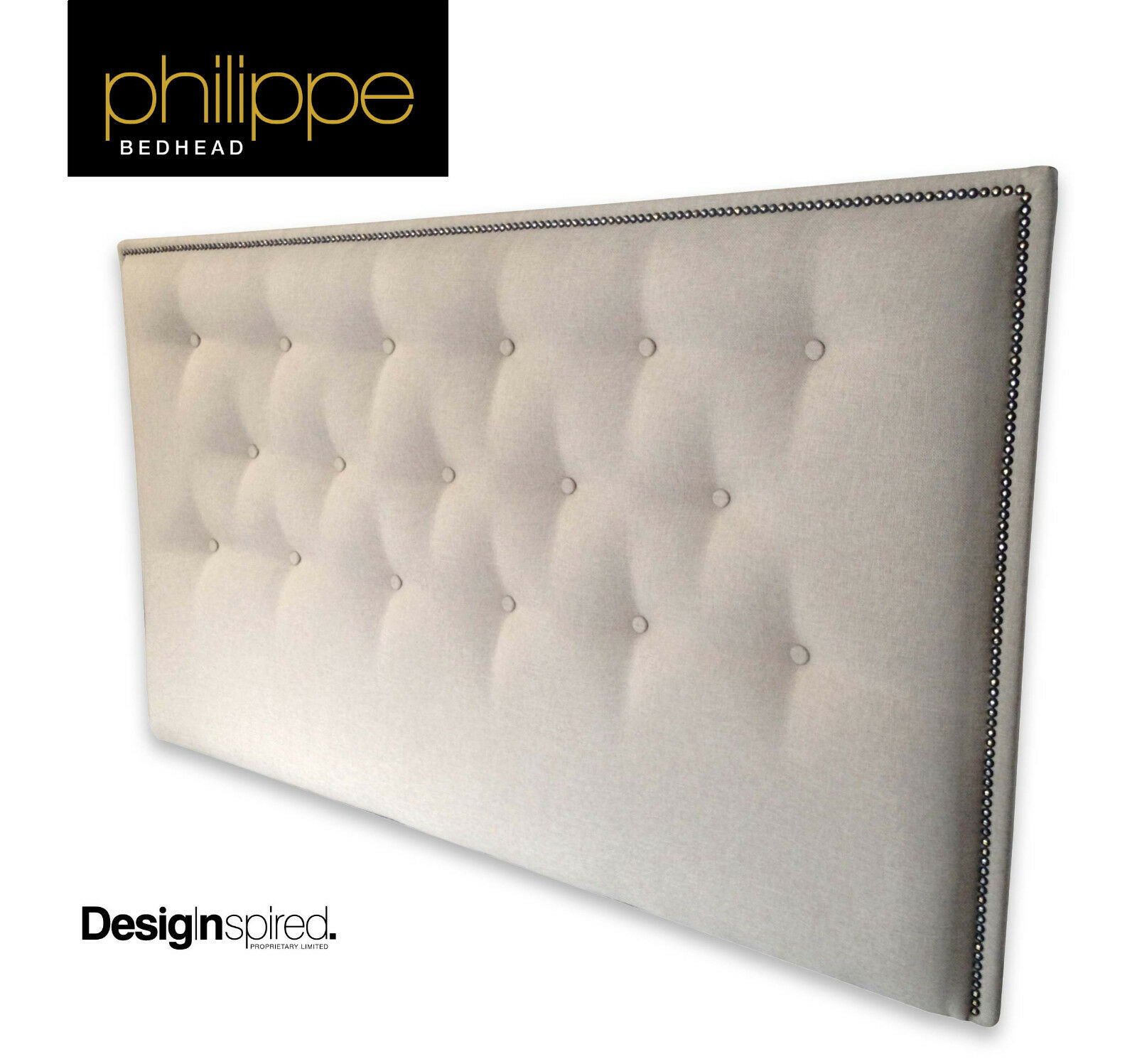 Headboard For Ensemble Philippe Upholstered Bedhead Headboard For King Size