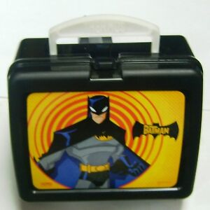 Batman Superhero Thermos Hard Plastic Lunch Box Child