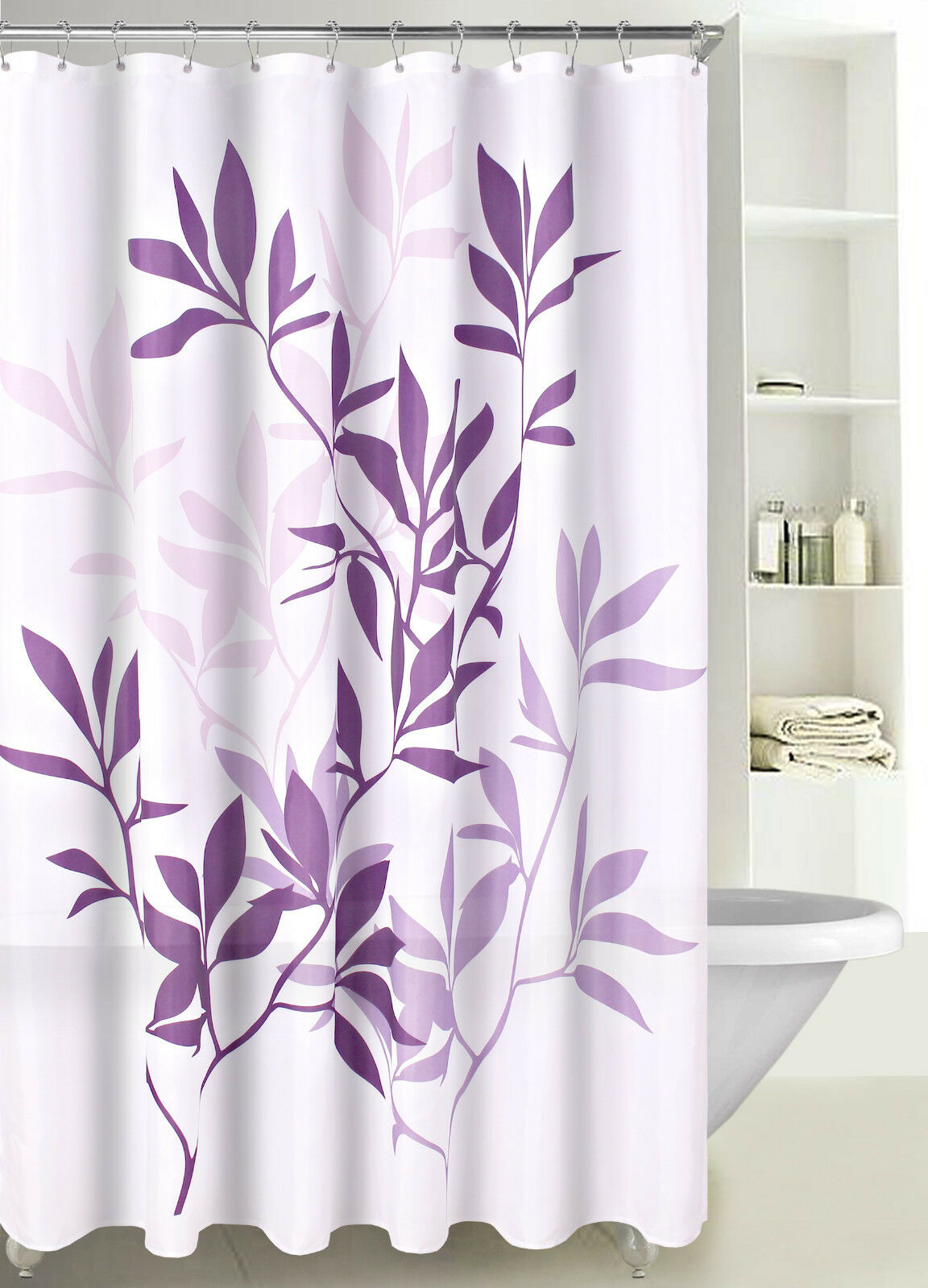 Cute Girly Shower Curtains Fabric Shower Curtain Multicolor Forest