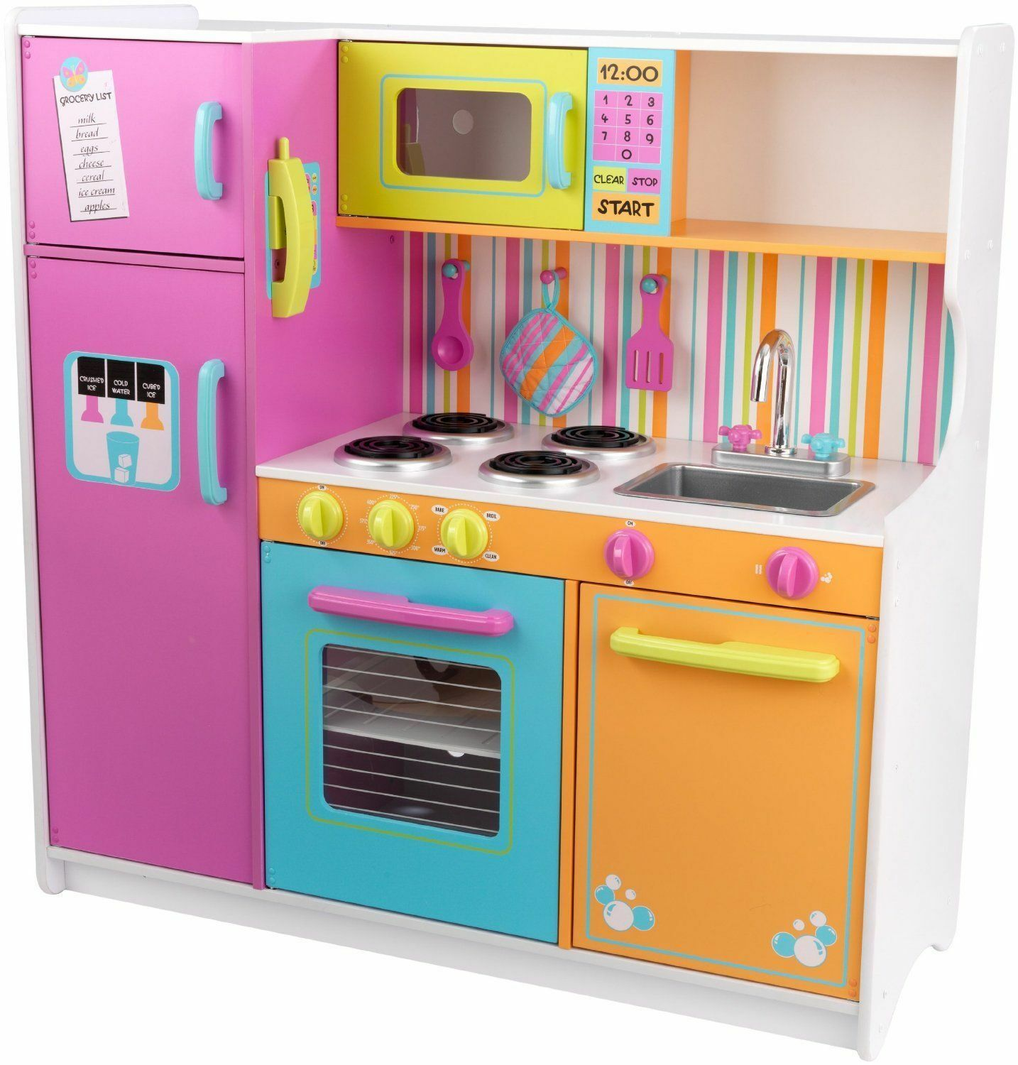 Kidkraft deluxe big and bright kitchen