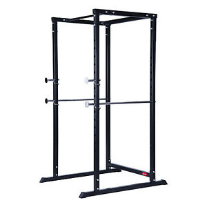 Soozier Strength Training Power Rack Lift Cage Weight