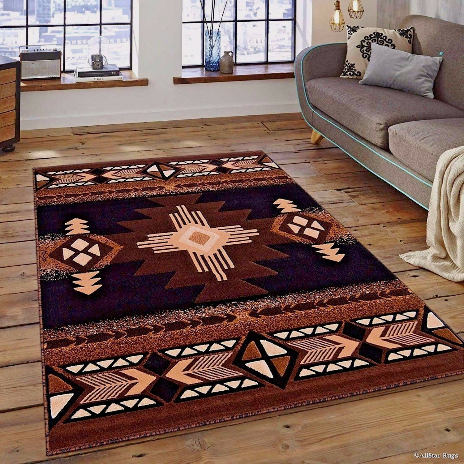 Huge Rugs For Living Room Details About Rugs Area Rugs Carpets 8x10 Rug Floor Modern Large Southwestern Big Brown Rugs