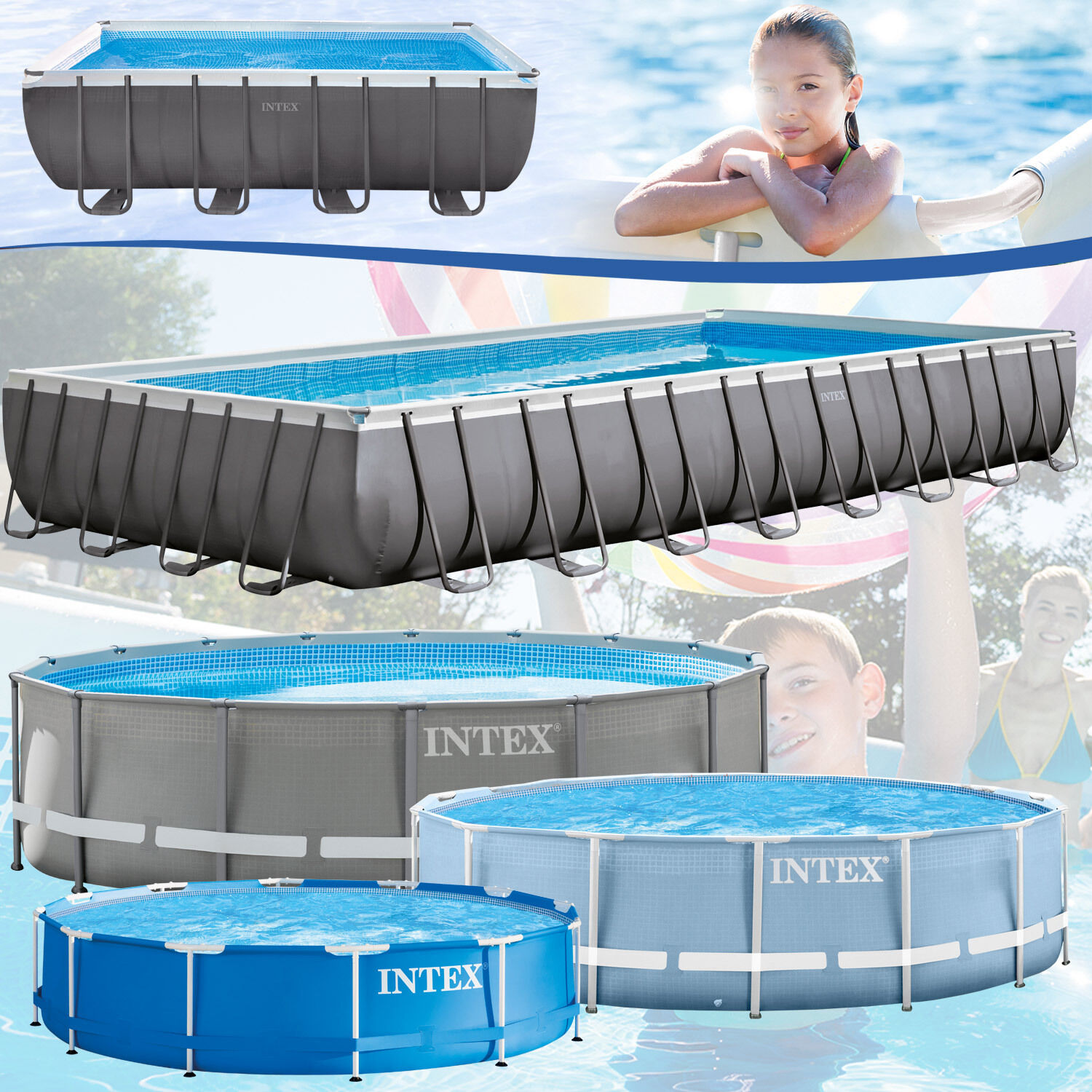 Aufblasbarer Pool Heizung Frame Pool Eckig Gallery Of Clear Pool Set Ovalpool Tlg With