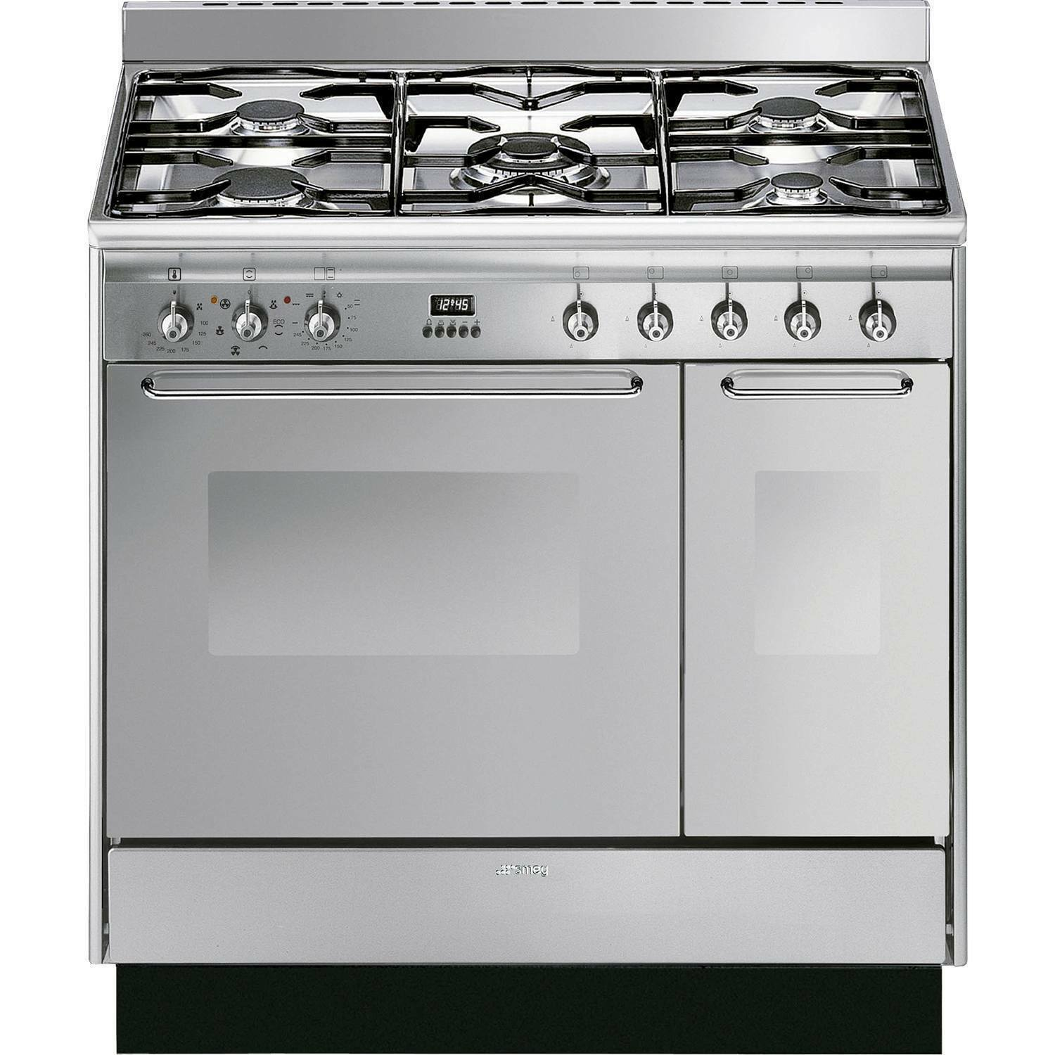 Cucina A Gas Smeg Vintage Smeg Cc92mx9 Range Cookers In Stainless Steel