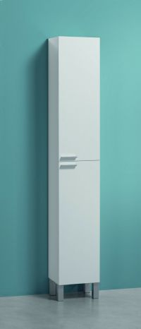 Koncept Tall Narrow Bathroom Cupboard Storage Cabinet soft ...