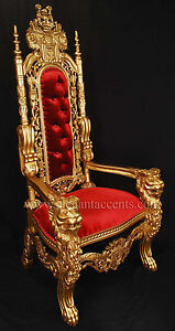 King Throne Chair | eBay