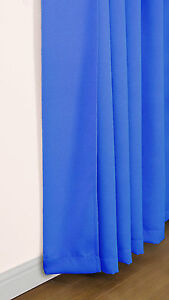 New eclipse blackout dimout thermal curtains in various colours sizes