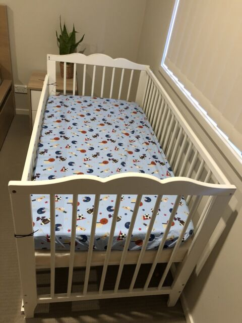 Baby Cots Gumtree Brisbane Ikea Baby Cot Mattress Foam Fitted Sheet Crib Wedge