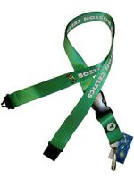Boston Celtics Lanyard Keychain