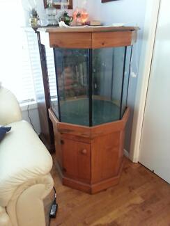 FISH AQUARIUM, DAZIRAN 190 LITRE TANK WITH MATCHING STAND. | Pet