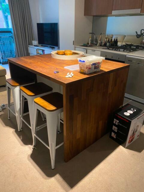 Ikea Kitchen Island With Stool Space And Draws Buffets