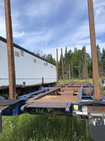 Superior 48 Ft Log Trailer Heavy Equipment Thunder Bay - Trailers Thunder Bay