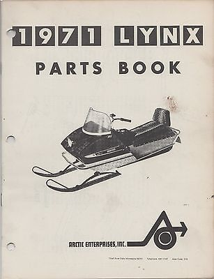 Manuals - 1971 Arctic Cat