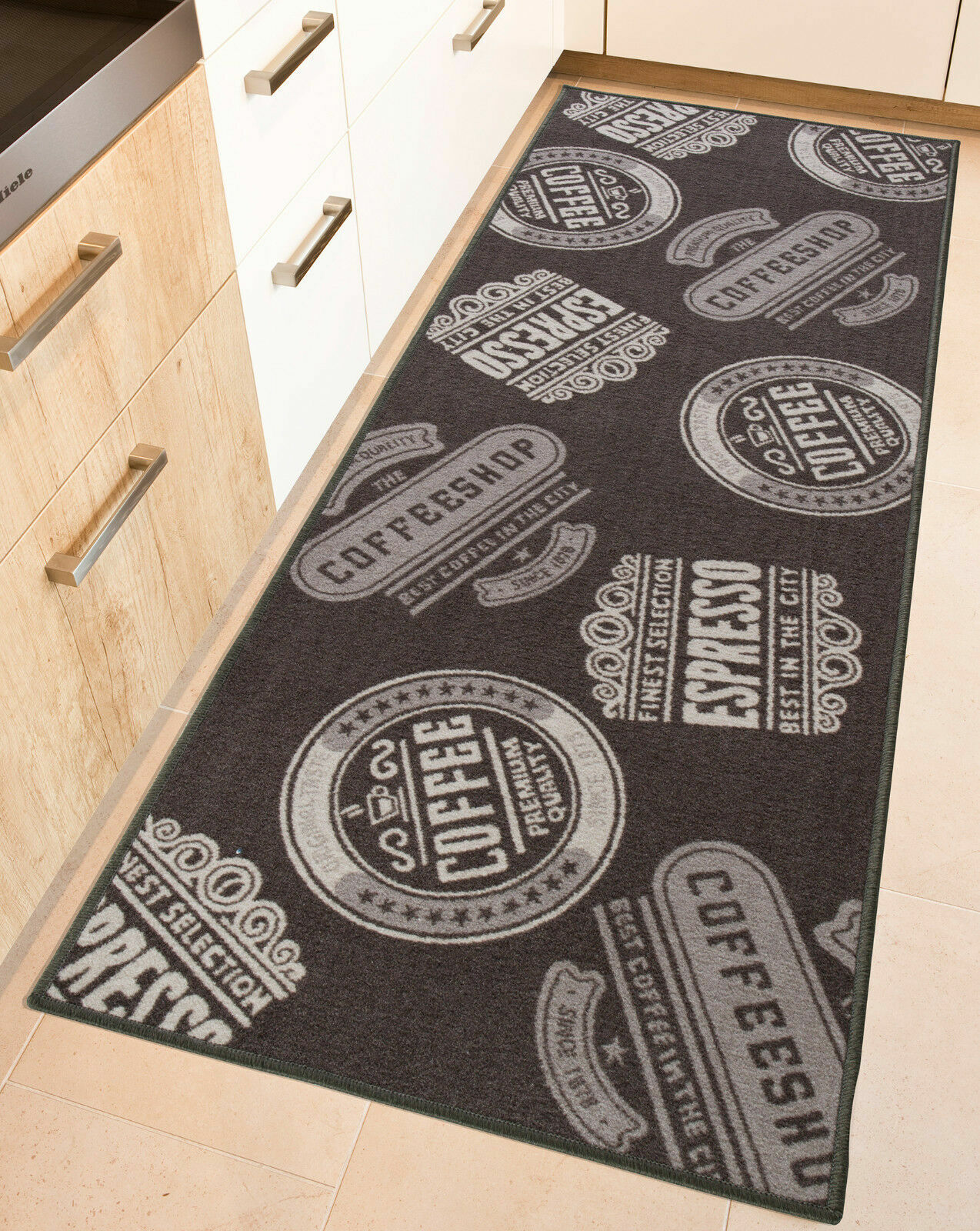 Kitchen Runner Rug Runner Coffee Washable Runner Coffee Kitchen Kitchen Carpet Ebay