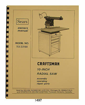 Craftsman wood shaper model no 11323941 1/2 hp 3450 rpm motor with