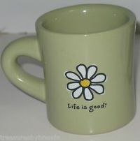 Life is Good Coffee Mug Cup Cup Daisy Do What You Like ...