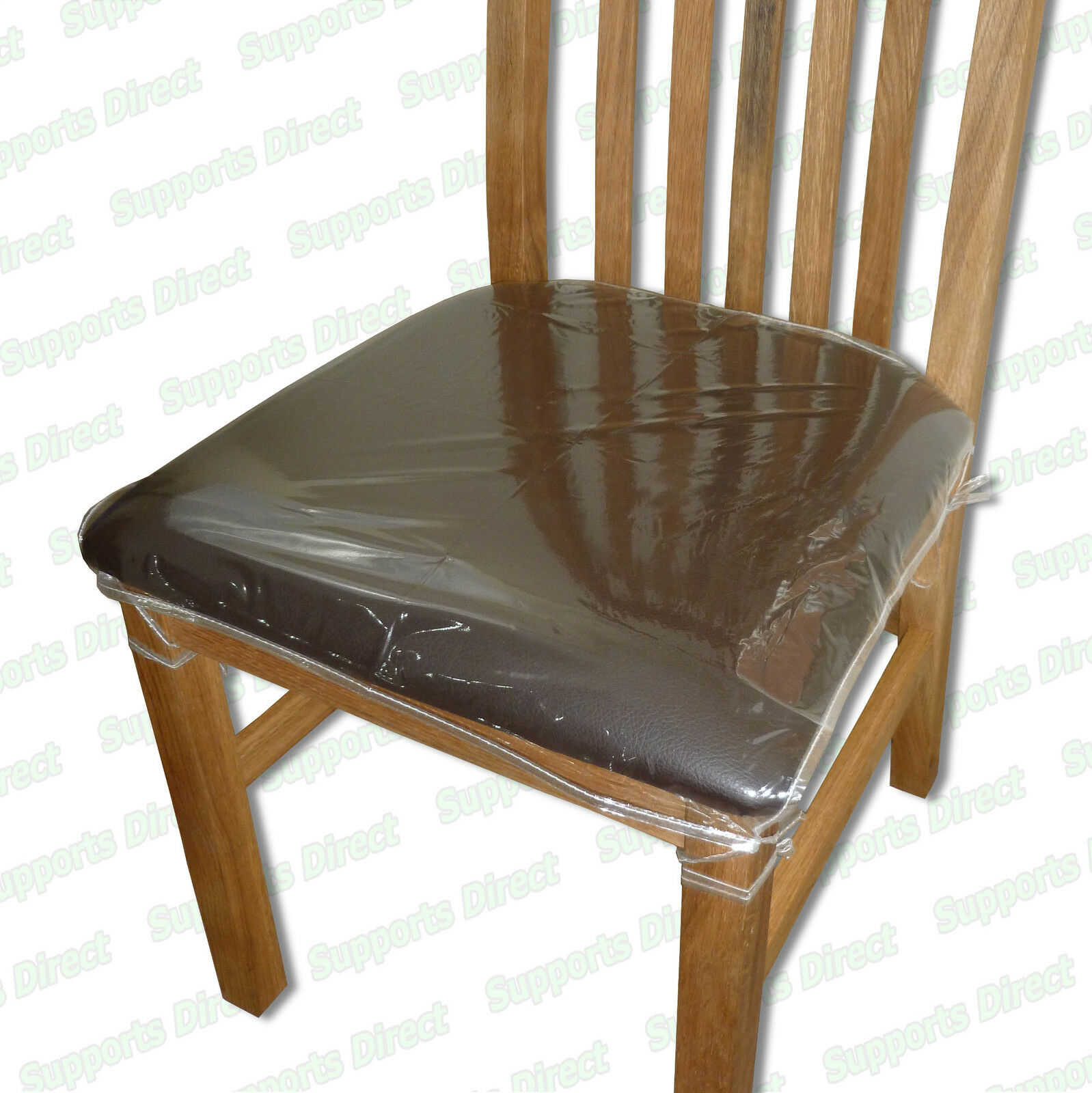 Strong Dining Chair Protectors Clear Plastic Cushion Seat Covers Protection Ebay