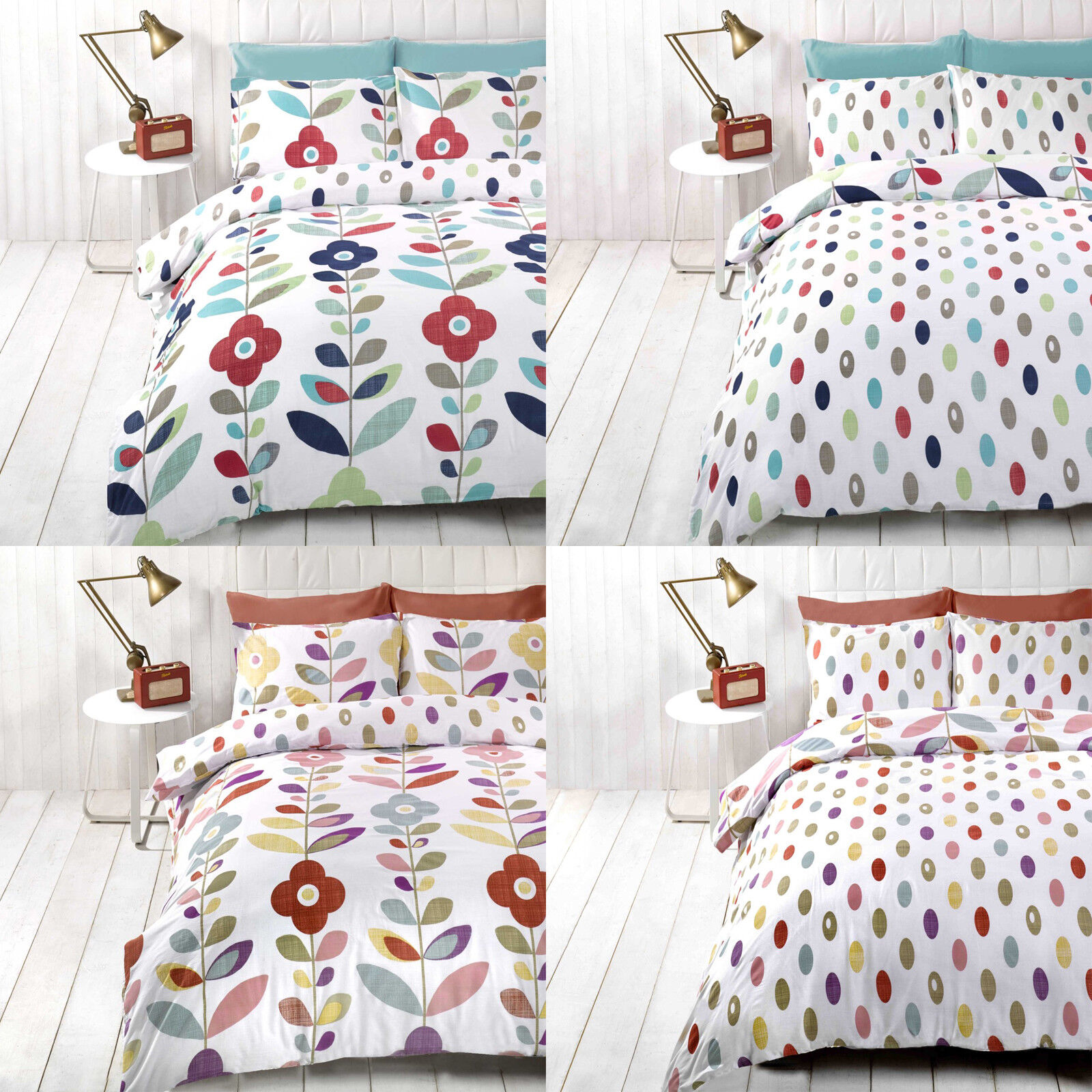Möbel Wohnen Modern Floral Trail Printed Poly Cotton Duvet Quilt Cover Pillowcase Bedding Set Fiscleconsultancy Com