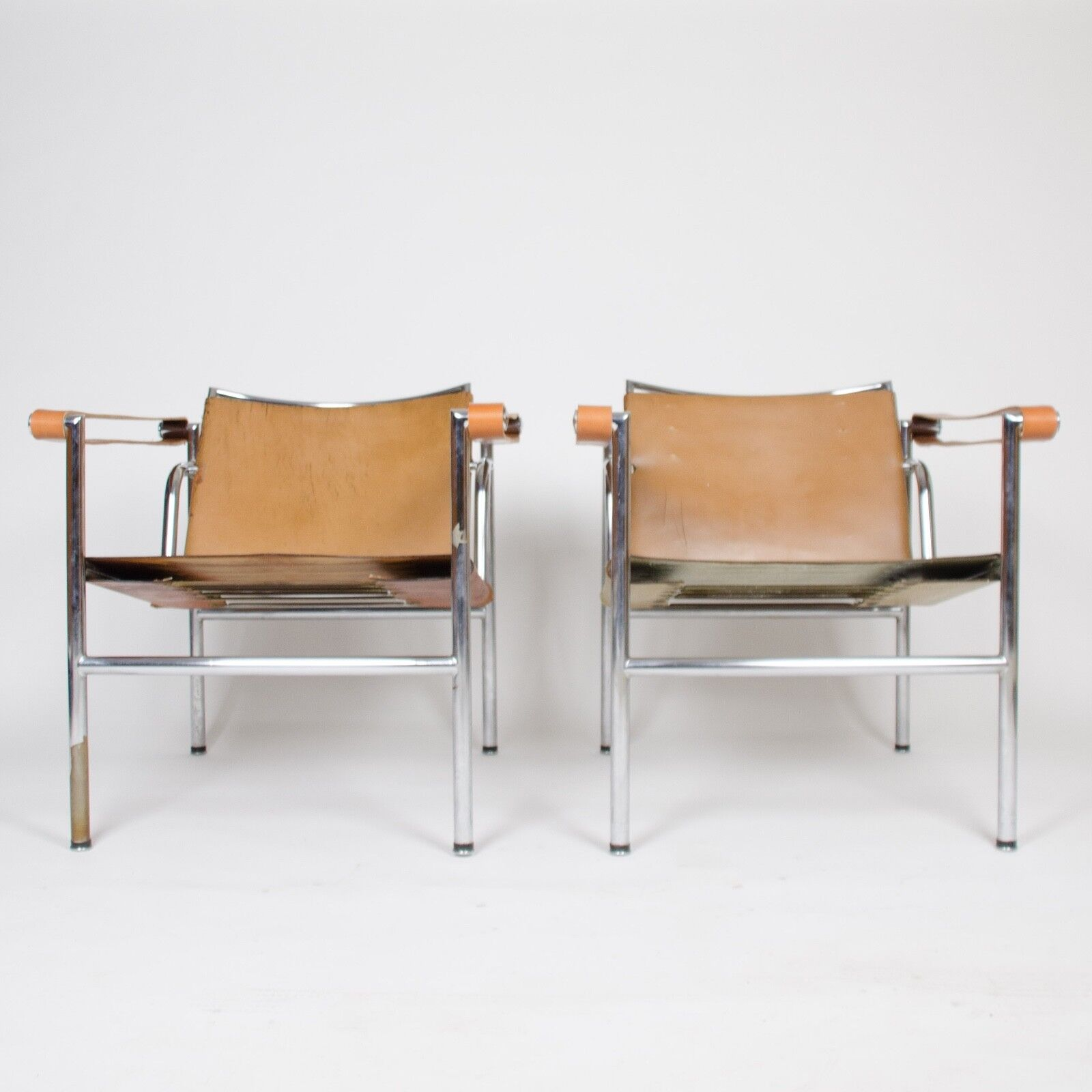 Lc1 Sessel Details Zu 1950 S Authentic Le Corbusier Marked Stendig Lc1 Basculant Chairs Thonet Cassina